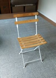 Cafe Bistro Chair Classic Classique Folding Garden