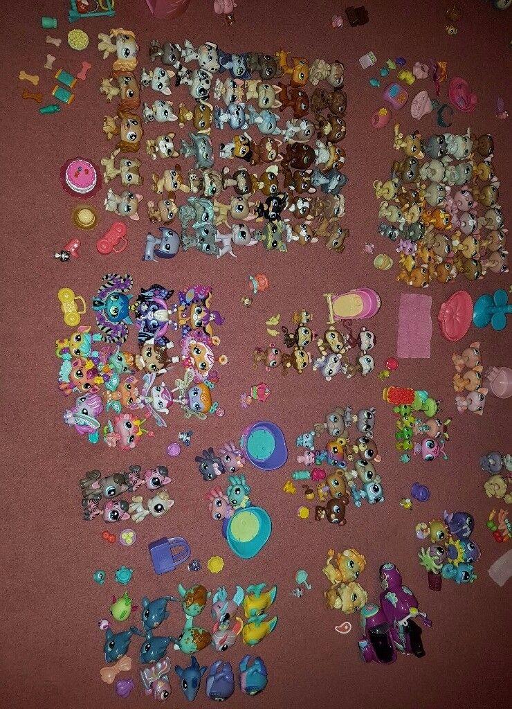 Littlest Pet Shop Collection over 200 Pets