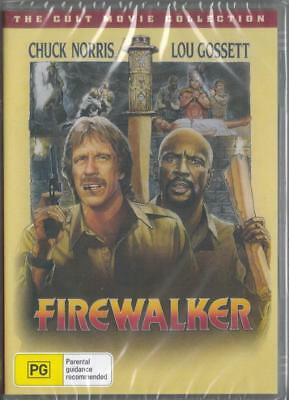 FIREWALKER - CHUCK NORRIS - NEW & SEALED DVD - FREE LOCAL POST