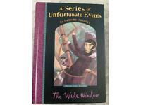 New RRP £6.99 The Wide Window (A Series of Unfortunate Events No. 3), Lemony Snicket