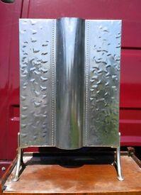 Vintage Fire Guard/Screen Silver, Steel