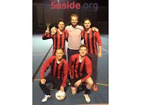 Spaces for new teams & individuals in Clapham South 5-a-side Leagues!