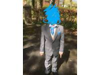 Boys suit with waistcoat shirt and crofat age 4yrs