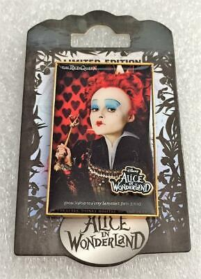 Disney DSF Tim Burton's Alice in Wonderland Movie Red Queen Poster LE 300 Pin