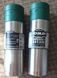 2 x stanley flasks .710L utility work sport hot cold stainless steel carp fishing bpa free post