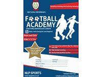 Boys Stratford Football Academy Trials Saturday September 2018 U7s, U8s, U9s, U11, U12s+