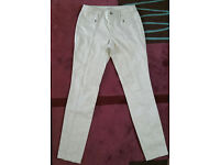 Women's ladies trousers from Esprit size 10 colour ice