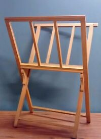Wooden Print Display Rack / Browser / Stand