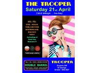 SATURDAY 21st APRIL - 60s 70s SOUL / REGGAE / MOTOWN / DISCO with DOUBLE BARREL - ST GEORGE