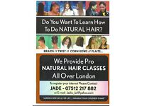 Mobile Hair Dressing Services and Hair Braiding Training in London