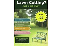 Lawn cutting ? Just a call away! from £29