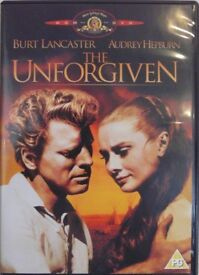 7 X DVDs OF CLASSIC MOVIES, incl.JUDGEMENT AT NUREMBERG, THE MISFITS, THE UNFORGIVEN, THOMAS CROWN