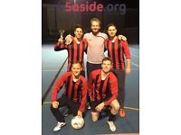Looking for teams and individuals to join our Clapham South 5-a-side football league