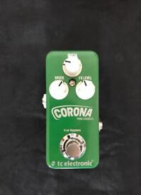 TC Electronics Corona mini chorus pedal