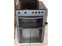 4 MONTHS WARRANTY Logik AA energy rated, 60cm wide electric cooker