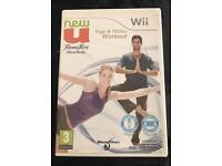 New U - Fitness First Yoga & Pilates Game for Nintendo Wii