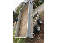8x4 Galvanised Tipper / Tipping Trailer - Great condition