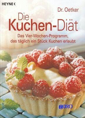 Dr. OETKER + Die Kuchen DIÄT + Buch + Vier Wochen Programm + Abnehmen mit Genuß