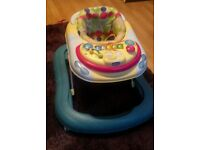baby walker bargain price removeable activity tray