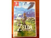 Zelda - Breath of the WIld for Nintendo Switch - Brand New