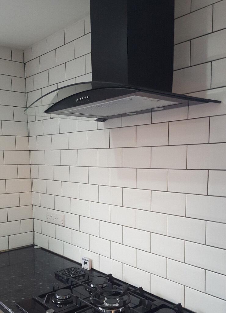 Kitchen Tiles Leicester wall tiles .. flat matt/satin finish metro/brick style .. top