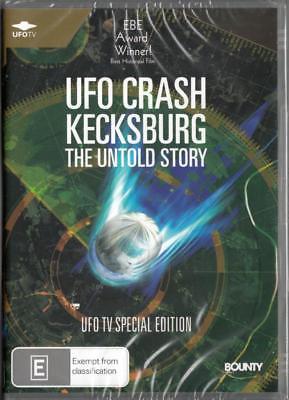 UFO CRASH KECKSBURG THE UNTOLD STORY -  NEW REGION 4 DVD FREE LOCAL POST