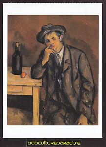 PAUL-CEZANNE-The-Drinker-ART-ARTWORK-PAINTING-POSTCARD