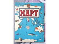 Marvellous Polish Children Book - Mapy (Maps)