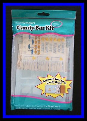 Baby Boy Candy Bar Kit Candy Mold NEW