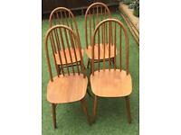 Mid Century Priory of Manchester Chairs. Similar to Ercol