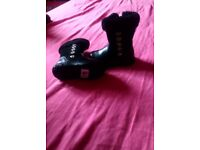 Girls boots infant size 4