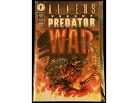 Aliens verses Predator WAR comics 1-5 1995 Dark Horse Comics NM+