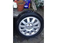Brand New Tyre on Alloy Wheel ( Renault )
