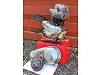 """Vintage"" Norton Dominator 88 Engine (500cc Twin) & Spares"