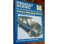HAYNES RENAULT SCENIC CAR MANUAL