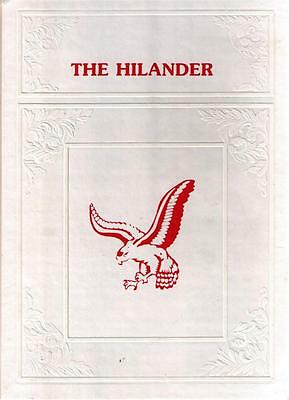 Hiland High School Berlin Ohio 1984 Yearbook Annual