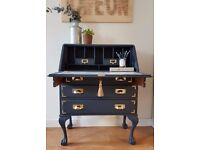 Bureau / Writing Desk - Quirky, wow factor! Interior design feature! One of a kind.