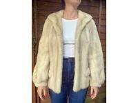 Excellent Condition Vintage Mink Fur Jacket - size small