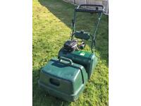 Atco Balmoral 17s lawnmower with scarifier