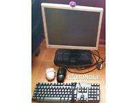 Monitor & keyboard bundle £5