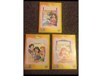 Disney princess stories vol 1,2,3