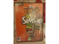 Sims 2 Open for business PC CD Rom