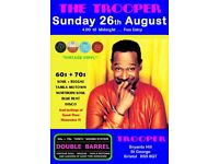 SUNDAY 26th AUGUST - 60s 70s SOUL / REGGAE / MOTOWN / NORTHERN SOUL - DOUBLE BARREL - ST GEORGE