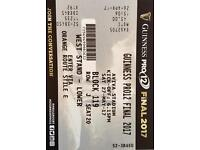 Rugby Pro 12 final tickets