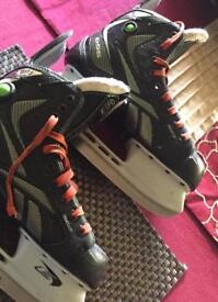 Reebok 9K Boys ice hockey skates