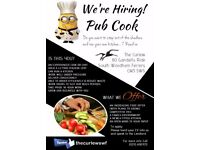 Pub Cook/Chef Required. Your own kitchen & menu. Time to step up...?