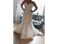 BNWT Allure Bridal Fishtail Wedding Dress - Cost £1400