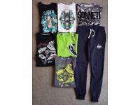 Boys Bundle age 10-12 - 5 Nike T-Shirts, 1 Sonneti T-shirt, 1 Hype jogging pants. - Uplift EK