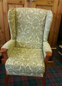 WING BACK ARMCHAIR VGC