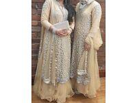 Stunning Asian Bridal Mehndi Dress/Lengha salwar kameez